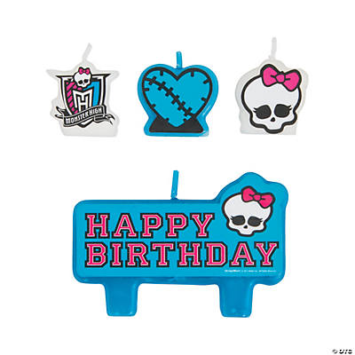 Monster High™ Mini Birthday Candles