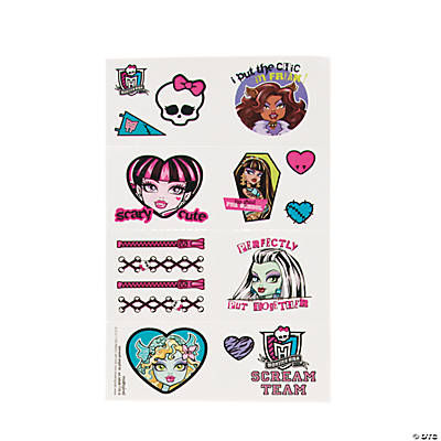 Monster High™ Tattoos