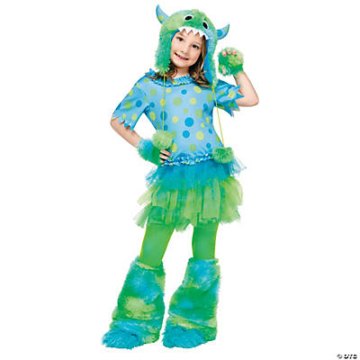 Monster Miss Girl's Costume