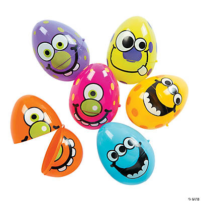 Monster Plastic Easter Eggs