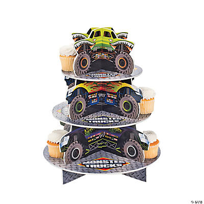 Monster Trucks Cupcake Holder