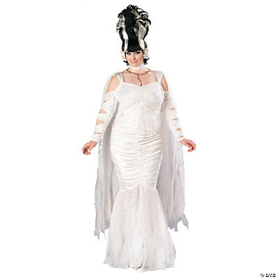 Monsters Bride Plus Size Adult Women's Costume