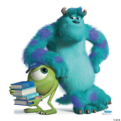 University mike sulley cardboard stand up monsters university mike sulley cardboard stand up voltagebd Image collections