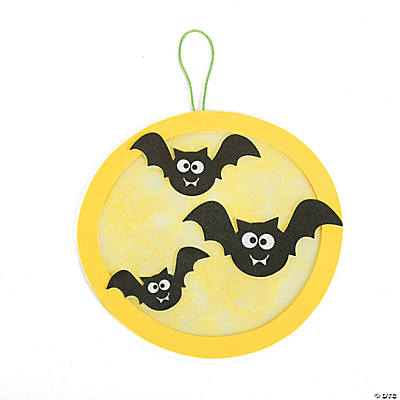 Moon & Bats Acetate Craft Kit