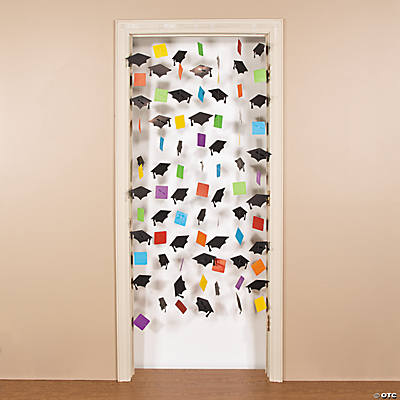 Mortar Board Door Curtain