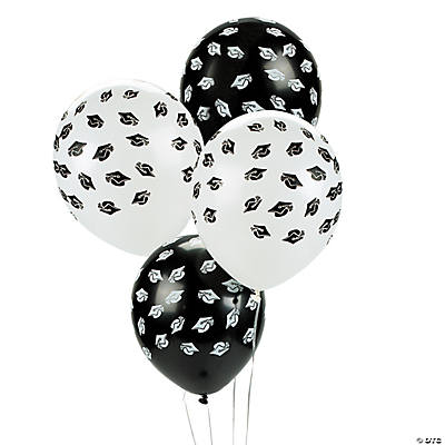Mortar Board Latex Balloons
