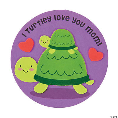 Mother's Day Turtle Magnet Craft Kit - Oriental Trading