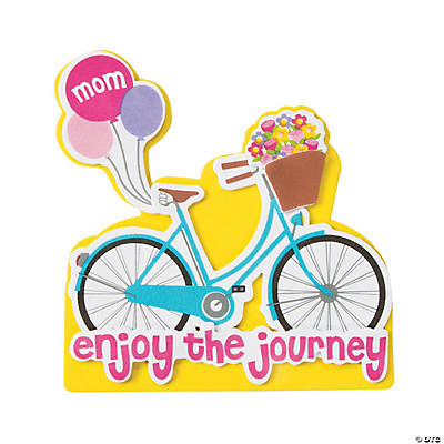 Mother s day bike magnet craft kit oriental trading for Mother s day craft kits