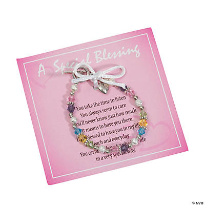 Mother's Blessing Bracelet Kit with Card
