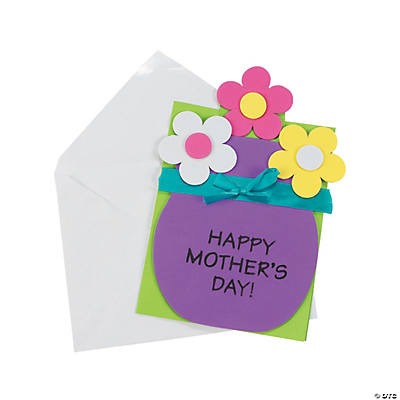 mother 39 s day pull out card craft kit oriental trading