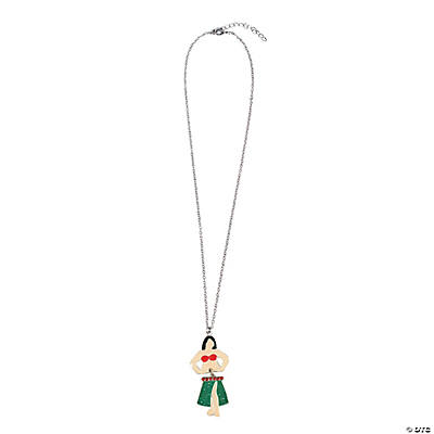 Moveable Hula Girl Necklace