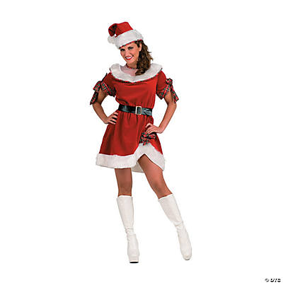 Mrs. Claus Standard Adult Women's Santa Costume