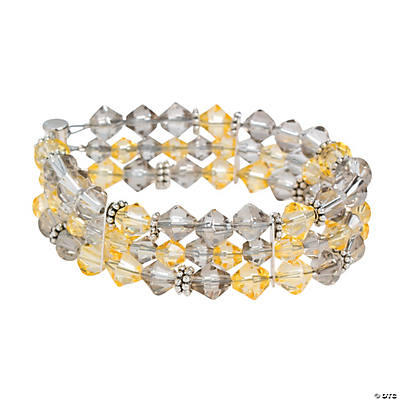 Multi-Strand Crystal Bracelet Idea