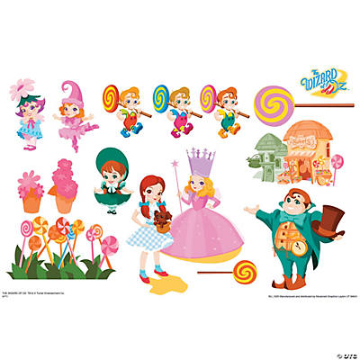 Munchkinland   Wizard Of Oz Kids Art Large Wall Jammer™ Wall Decal Design Ideas