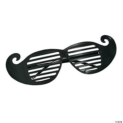 Mustache Shutter Shading Glasses