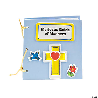 My Book of Jesus' Manners Craft Kit