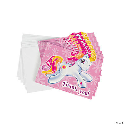 My Little Pony™ Thank You Cards