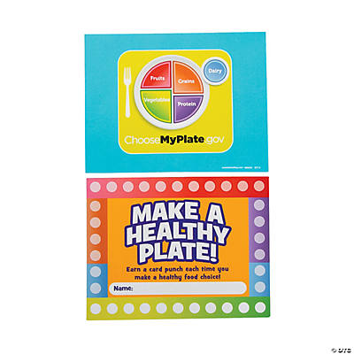 MyPlate Punch Card