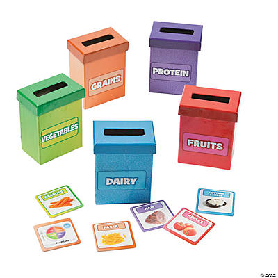 MyPlate Sorting Boxes