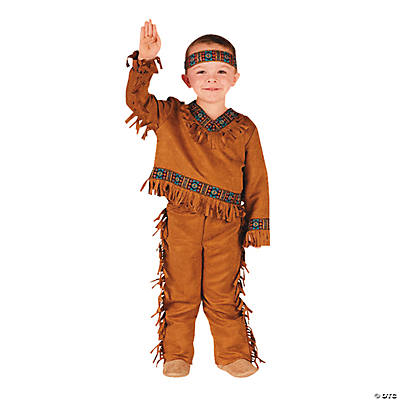 Native American Boy's Toddler Costume