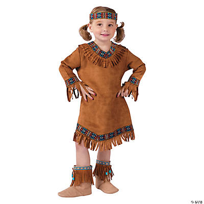 Native American Girl's Toddler Costume