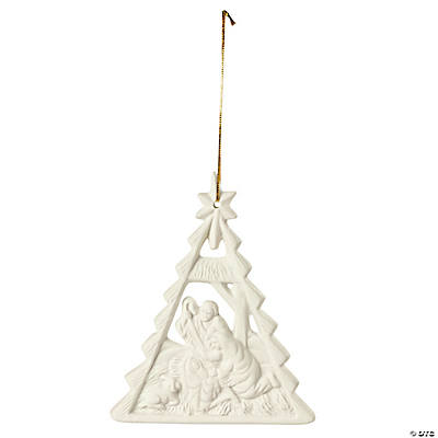 Nativity Christmas Tree Ornaments