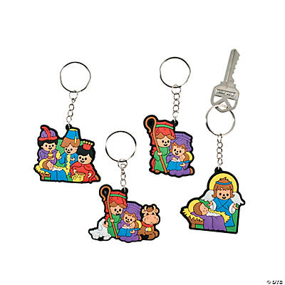 Nativity Kids Key Chains