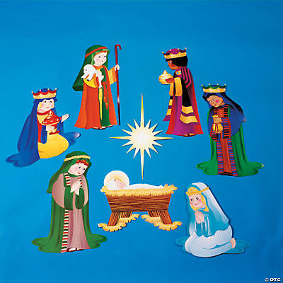 Nativity Scene Cutouts