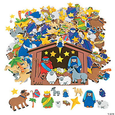 Nativity Shapes Set