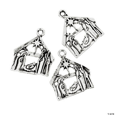 Nativity Silhouette Charms