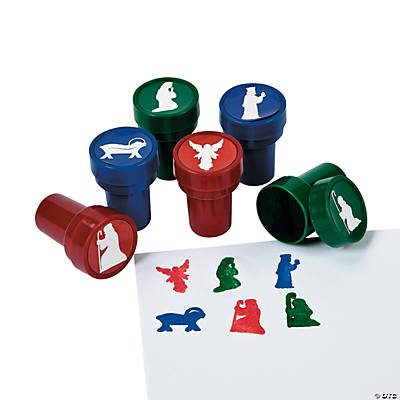 Nativity Silhouette Stampers