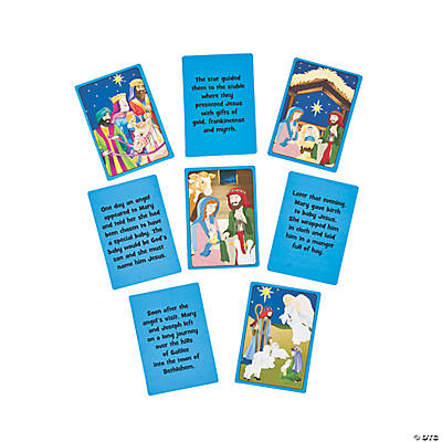 Nativity Story Sequencing Cards