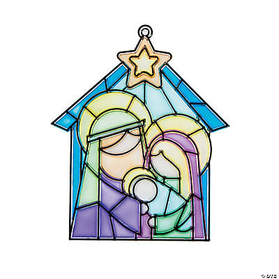 Nativity Suncatchers