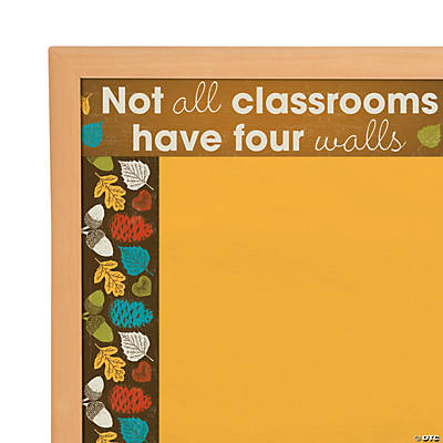 Nature Classroom Bulletin Board Borders