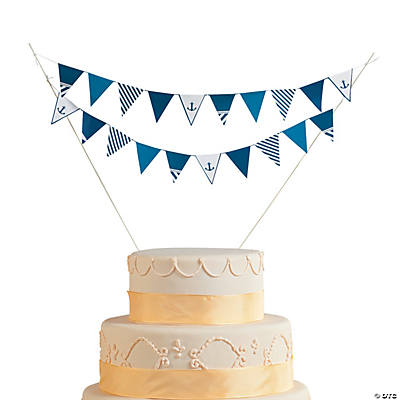 Nautical Wedding Cake Bunting