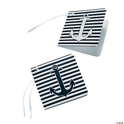Nautical Wedding Favor Tags