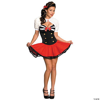Naval Pinup Adult Women's Costume
