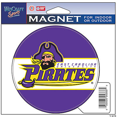 NCAA™ East Carolina University Pirates Car Magnet