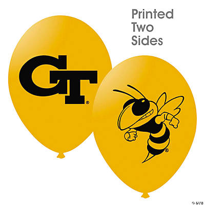 NCAA™ Georgia Tech Yellow Jackets Latex Balloons