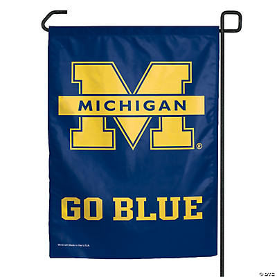 NCAA® Michigan College Football Garden Flag