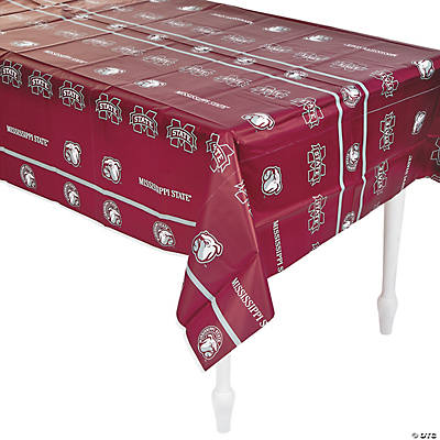 NCAA® Mississippi State Plastic Tablecloth