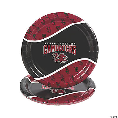 NCAA™ South Carolina Paper Dinner Plates