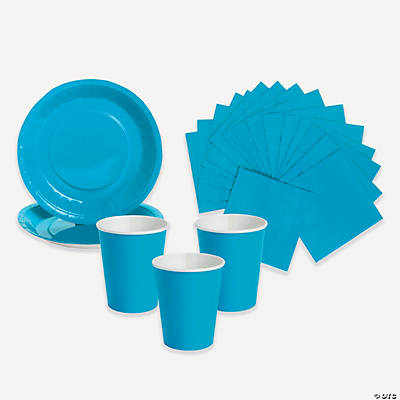 Neon Blue Tableware