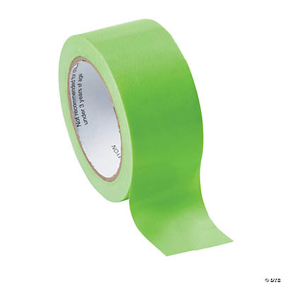 Neon Green Duct Tape