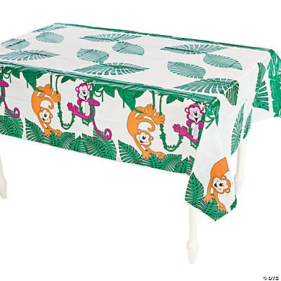 Neon Monkey Tablecloth