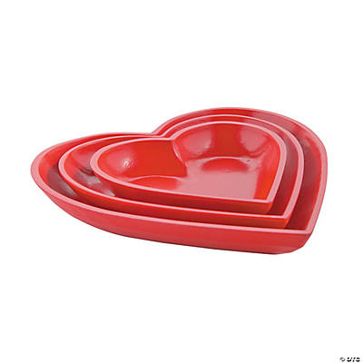 Nesting Heart Trays
