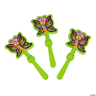 New Life Butterfly Hand Clappers