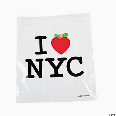 New York Resealable Bags