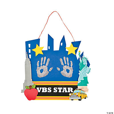 New York Star Handprint Craft Kit