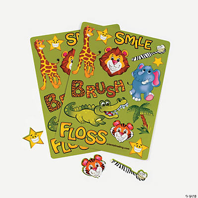 New Zoo Dental Sticker Sheets